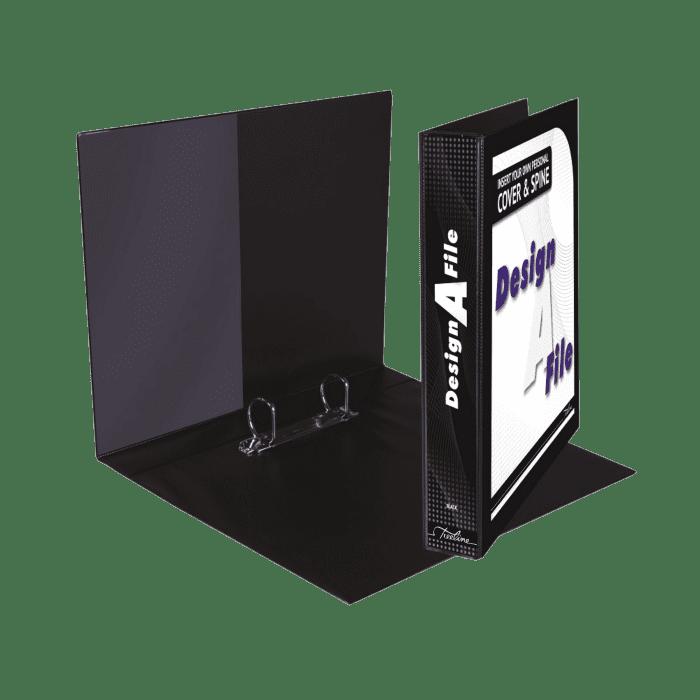Treeline Design A File A4 2 D Ring 25mm Blue Box-10