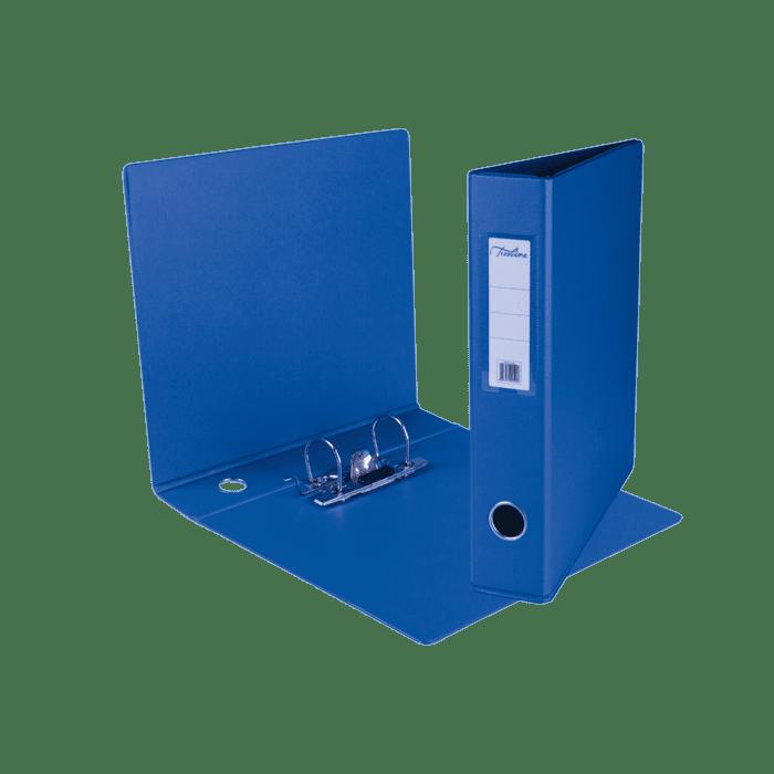Treeline A4 Mini Lever Arch File PVC Box-10 Blue