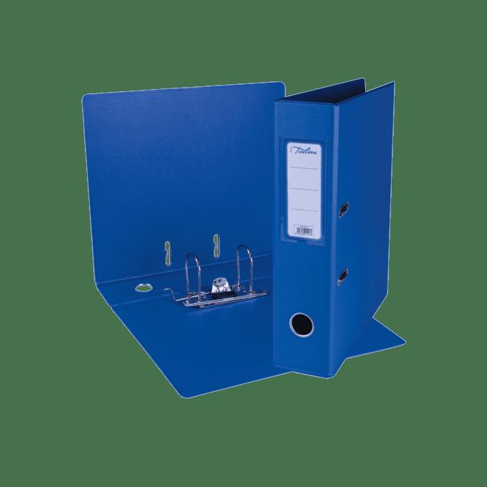 Treeline A4 Lever Arch File PVC Box-10 Blue