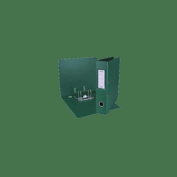 Treeline A4 Lever Arch File PVC Box-10 Green