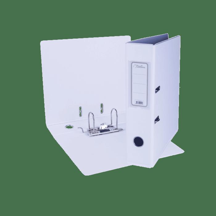 Treeline A4 Lever Arch File PVC Box-10 White