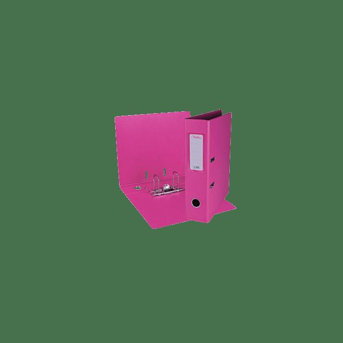 Treeline A4 Lever Arch File PVC Box-10 Pink