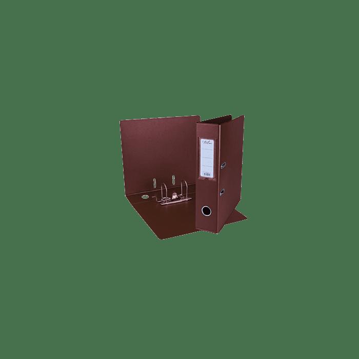 Treeline A4 Lever Arch File PVC Box-10 Burgundy