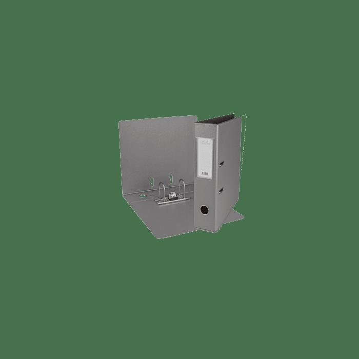 Treeline A4 Lever Arch File PVC Box-10 Grey