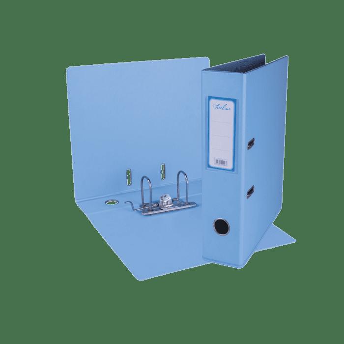 Treeline A4 Lever Arch File PVC Box-10 Sky Blue