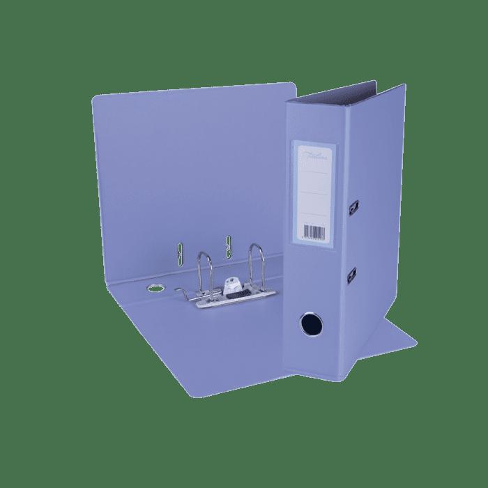 Treeline A4 Lever Arch File PVC Box-10 Lilac