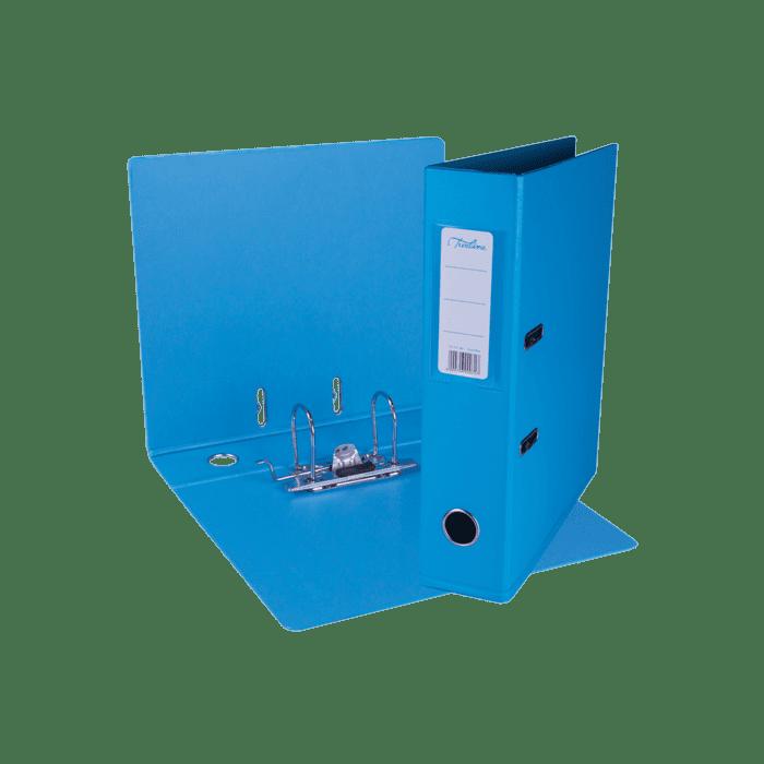 Treeline A4 Lever Arch File PVC Box-10 Azure