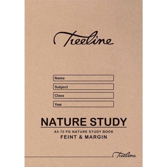 Treeline A4 72 pg Nature Study Pkt-20