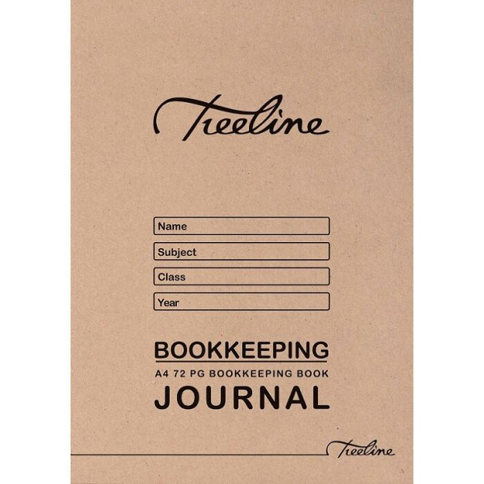 Treeline A4 72 pg Journal Soft Cover