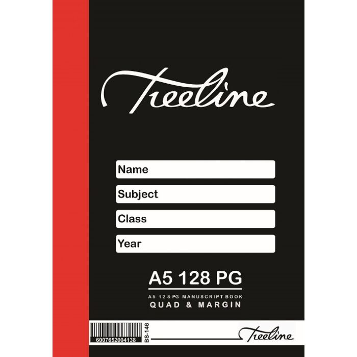 Treeline A5 128 pg Quad & Margin Pkt-20