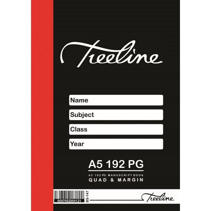 Treeline A5 192 pg Quad & Margin Pkt-5