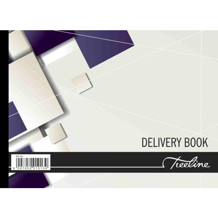 Treeline A5 Delivery Book Hard Cover Pkt-5