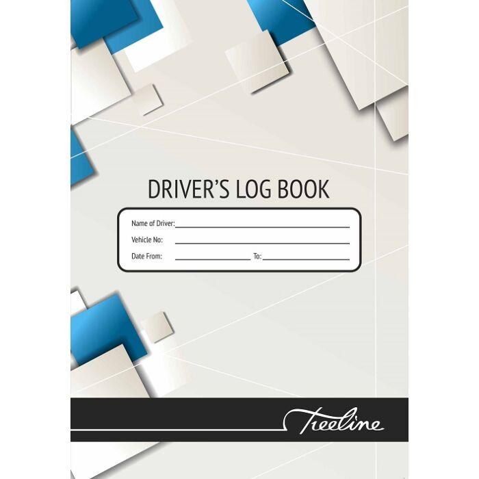 Treeline A5 Driver Log Book Soft Cover 32pg Pkt-20