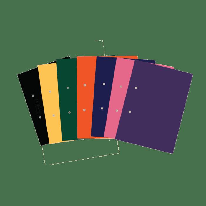 Treeline Foolscap Accessible Files 320g Pkt-4 Black