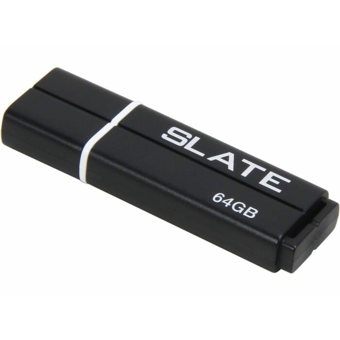 Patriot Slate 64GB USB3.1 Flash Drive Black