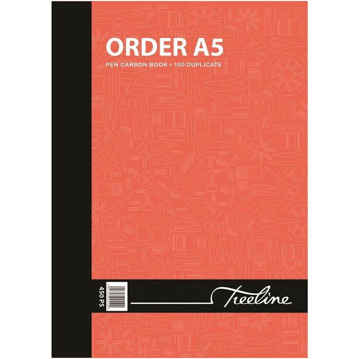 Treeline A5 Order Duplicate 100 pg