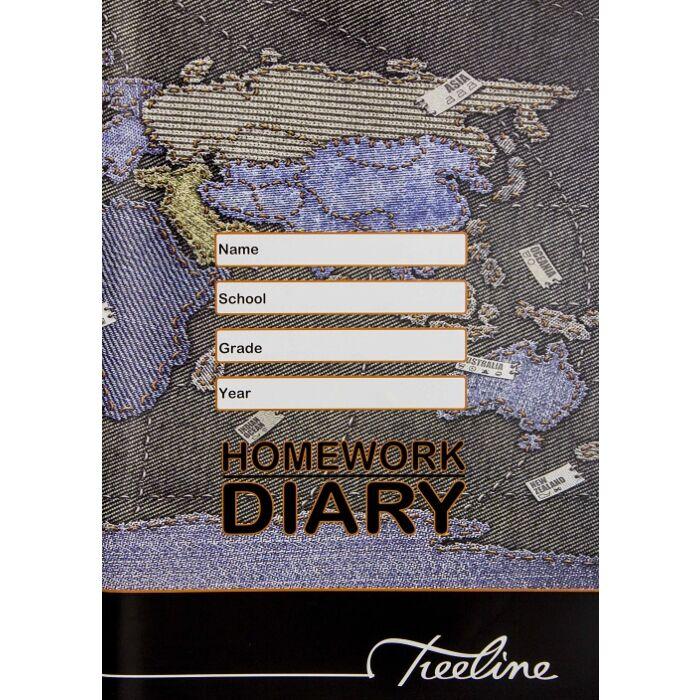 Treeline A5 Homework Diary Pkt-10