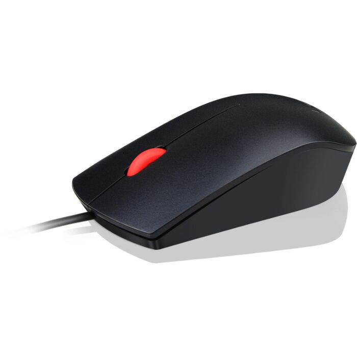 Lenovo - Essential USB Optical Wired Mouse