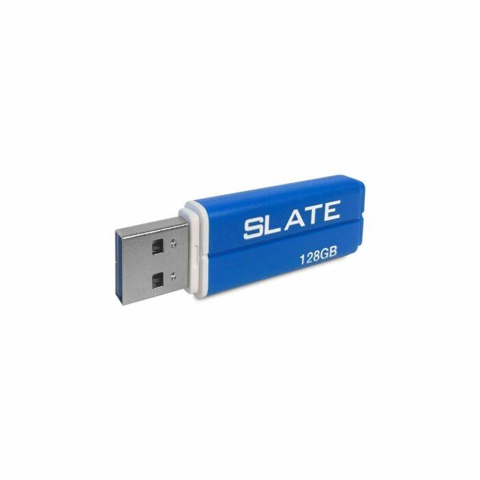 Patriot Slate 128GB USB3.1 Flash Drive Blue