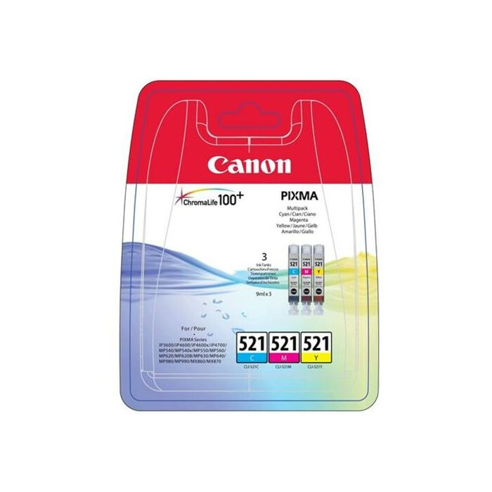 Canon - Ink Multipack - Ip3600 / Ip4600 / Ip4700 / Mp540 / Mp550 / Mp560 / Mp620 / Mp630 / Mp640 / Mp980 / Mp990 / Mx860 / Mx870