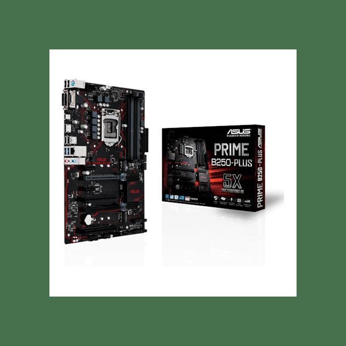 ASUS PRIME B250-PLUS LGA 1151 Intel B250 HDMI SATA 6Gb/s USB 3.0 ATX Motherboard (Kaby Lake)