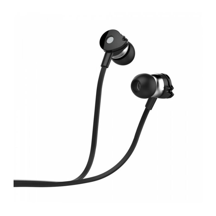 Astrum EB280 Wired Stereo Earphones + In-line Mic Black