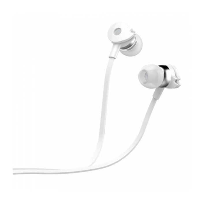 Astrum EB280 Wired Stereo Earphones + In-line Mic White