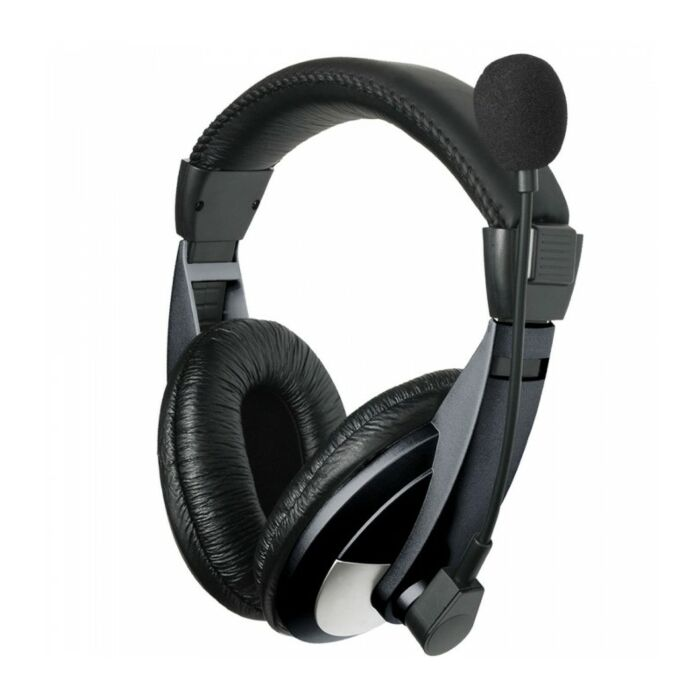 Astrum HS120 Large Stereo Headphones + Mic