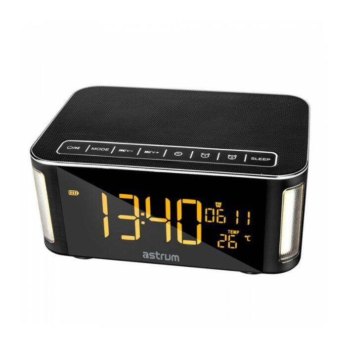 Astrum ST250 Bluetooth Speaker With Clock + Light + FM + TF