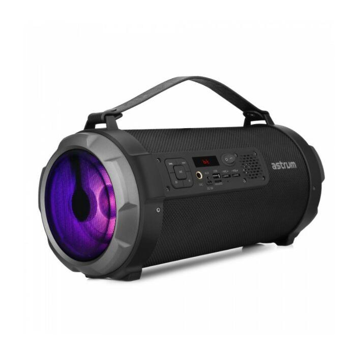 Astrum ST390 Wireless Barrel Speaker LED 35W BT+FM+TF+USB