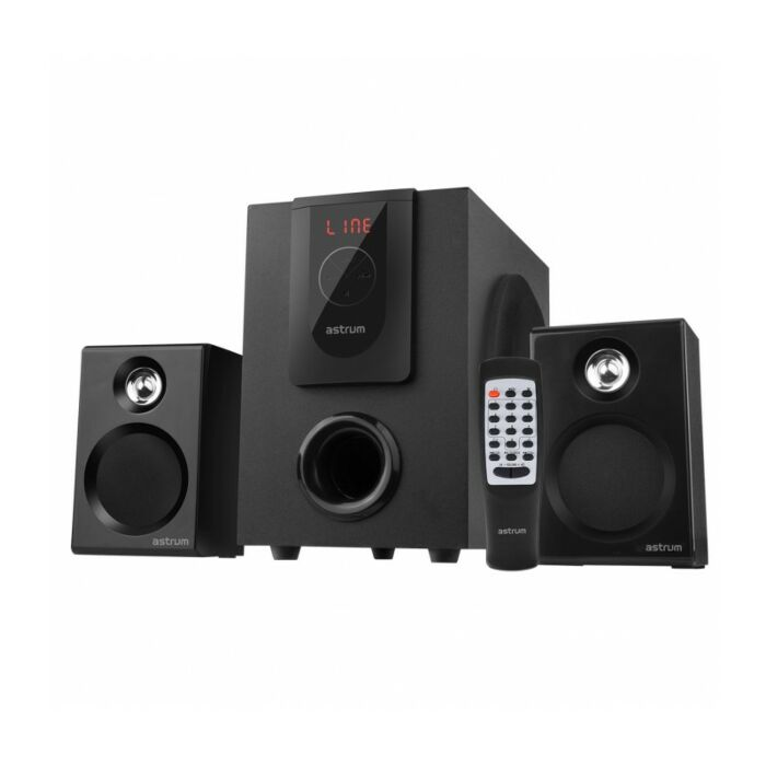 Astrum MS250 2.1CH 30W Multimedia Speaker BT + USB + SD + FM Radio