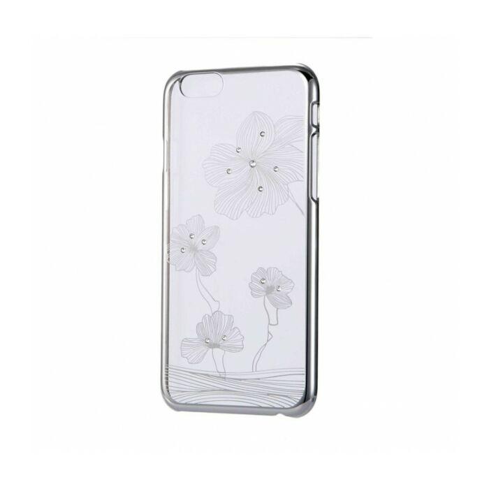 Astrum MC140 Lotus iPhone 6/6S Swarovski Crystal Case Silver