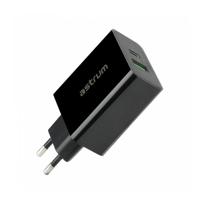 Astrum CH450 Quick Charge 3.0 + USB-C Home Wall Charger EU