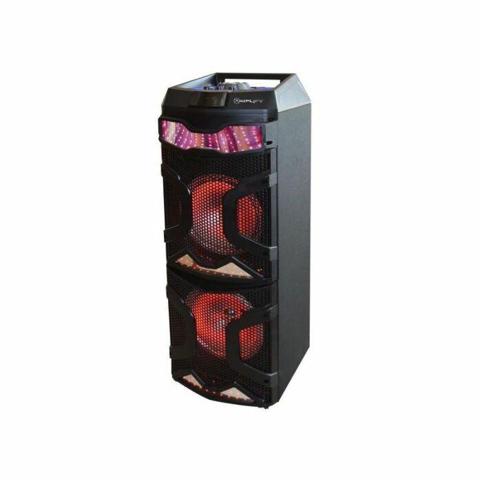 Amplify Sentinel Series Dual 8 inch Portable Bluetooth Speaker