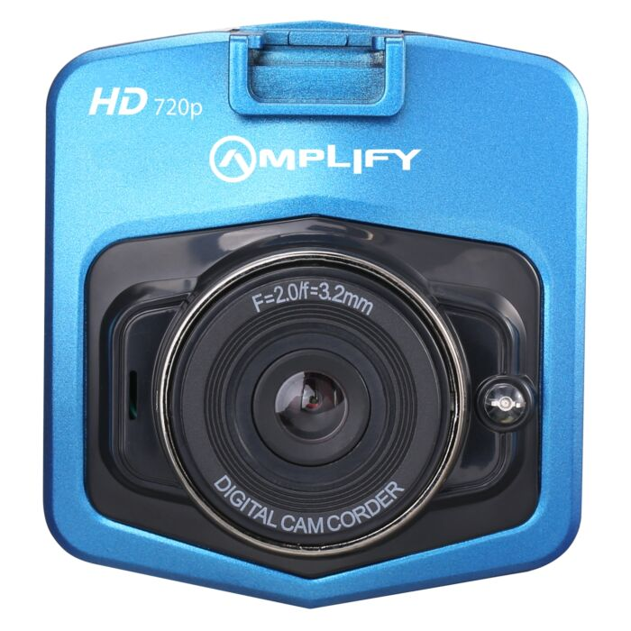 Amplify Road Series 720P Dash Camera - Blue