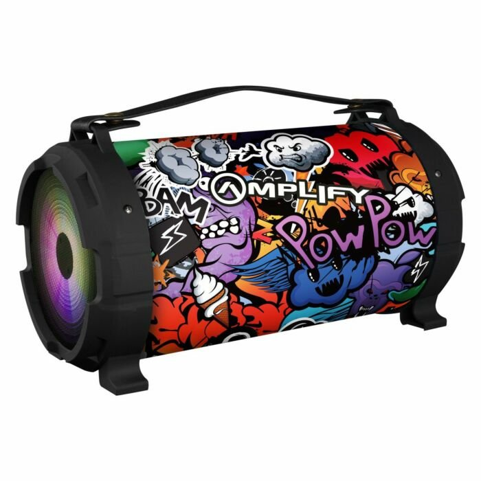 Amplify Thump Series Bluetooth Speaker Monster Patterned