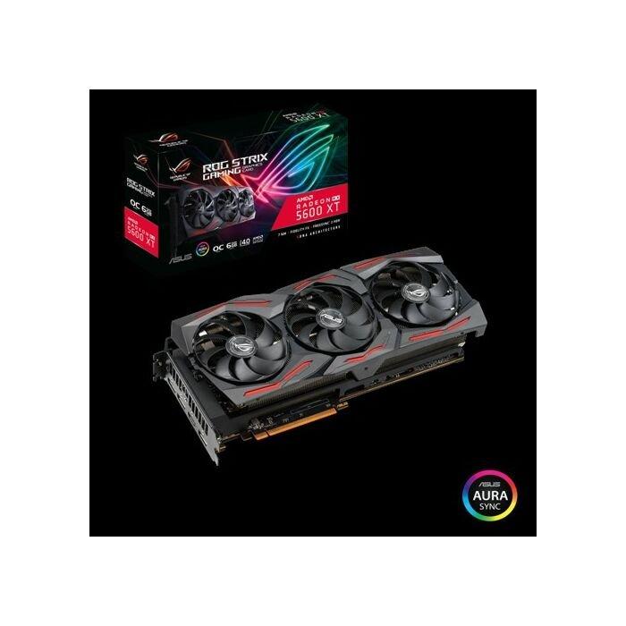 ASUS ROG STRIX RX 5600XT O6G GAMING GDDR6 6GB | 1x HDMI | 3x DP