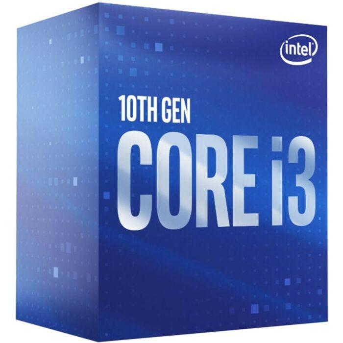 Intel BX8070110100 Core i3-10100 Quad Core 3.6GHz (4.3GHz Turbo) 14nm Comet Lake Socket LGA1200 Desktop CPU