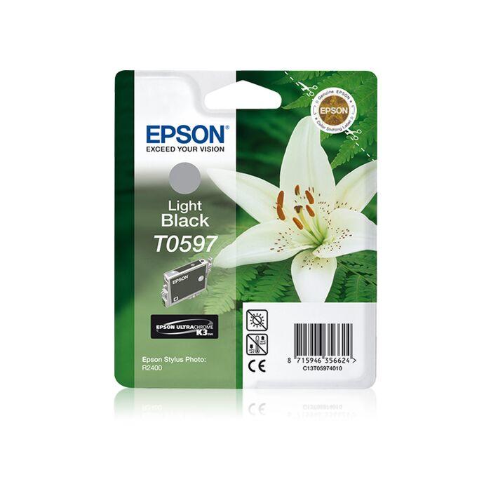 Epson - Ink - T0597 - Light Black - Lilly - Stylus Photo R2400