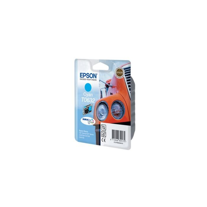 Epson - Ink - T0632 - Cyan - Truck - Stylus C67 / C87 / Cx3700 / Cx4100 / Cx4700 / Cx5700F