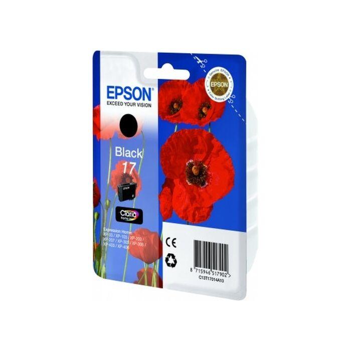 Epson - Ink - 17 Series - Black - Poppy - Claria Home Ink