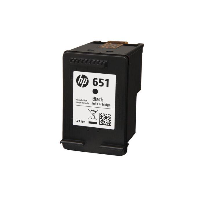 HP 651 Black Ink Cartridge - Ia 5575 / 5645