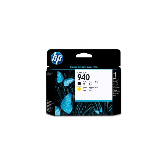 HP 940 Black And Yellow Officejet Printhead - Officejet Pro 8000 Series