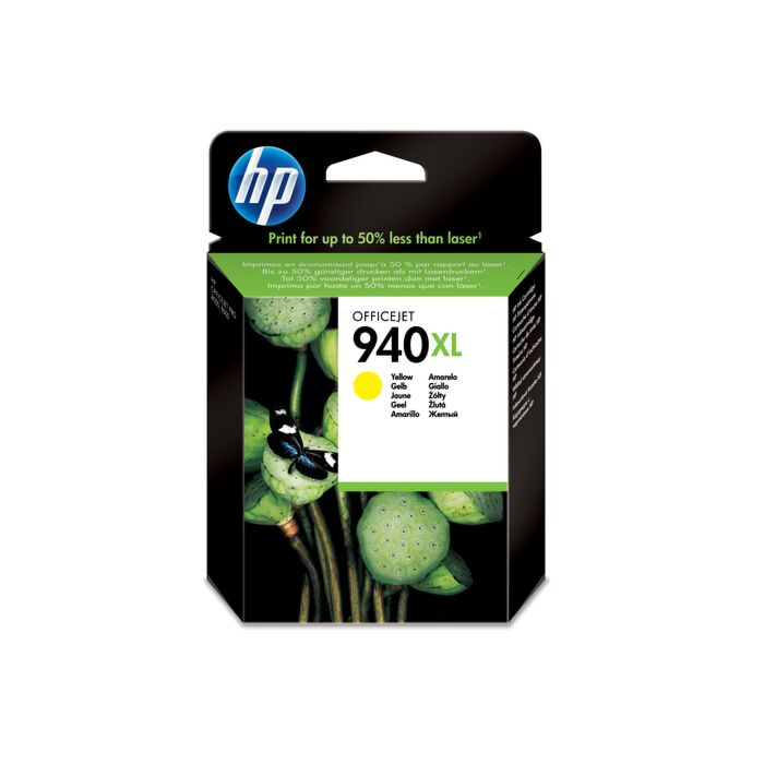 HP 940XL Yellow Officejet Ink Cartridge Blister Pack