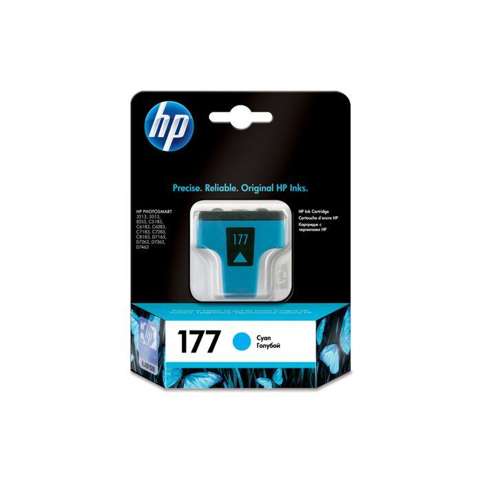 HP 177 Cyan Ink Cartridge