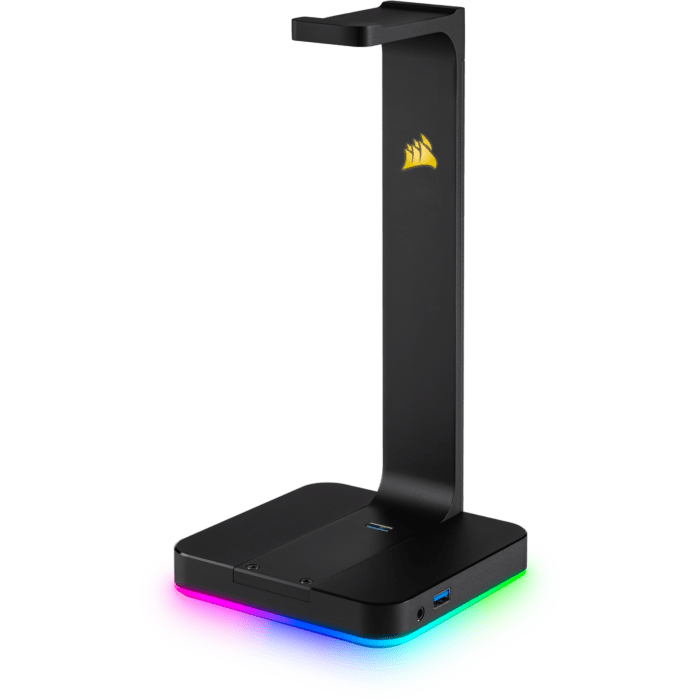 Corsair ST100 RGB Premium Headset Stand with 7.1 Surround Sound Passthrough