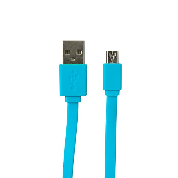 Volkano Micro USB Cable Slim Series - Blue