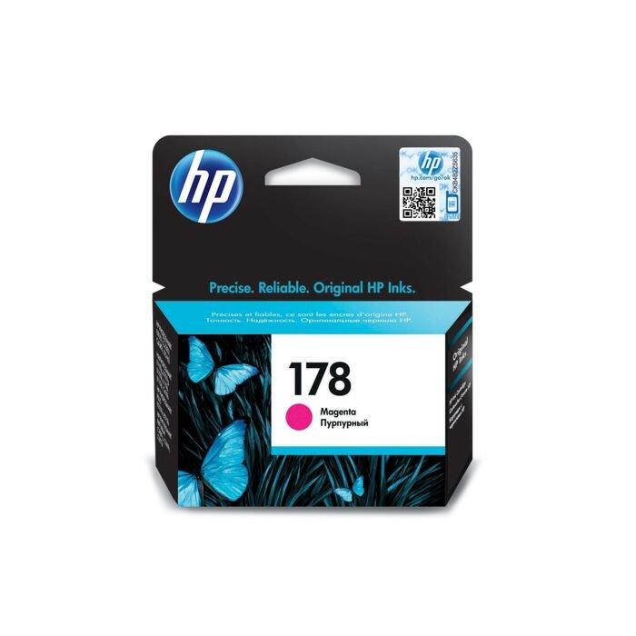 HP 178 Magenta Ink Cartridge With Vivera Ink - Officejet B8553 C5383 Photosmart 309C