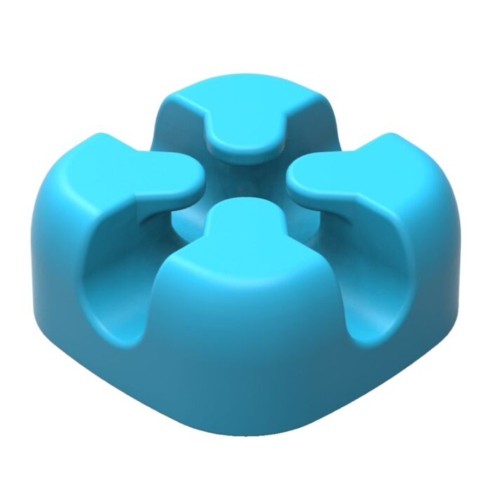 Orico Desktop Cross Clip Cable - Blue