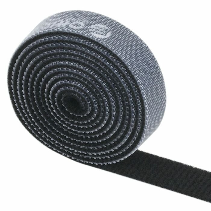 Orico velcro cable ties 1m - Black